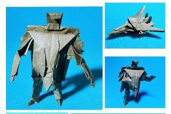 折纸王子教你变形金刚机器人